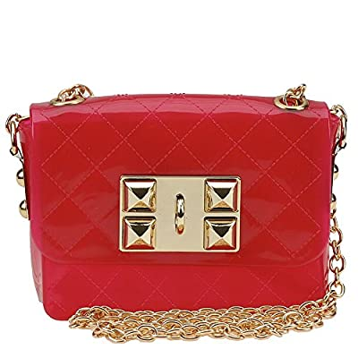 Melie Bianco Small Quilted Jelly Crossbody