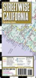 Search : Streetwise California Map - Laminated State Road Map of California