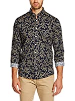 CONTE OF FLORENCE Camisa Hombre (Azul / Beige)