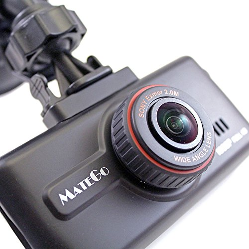 MateGo MG300K Plus Full HD(1080p, 30fps) SONY CMOS Dashcam Car Blackbox DVR recorder (No SD card)