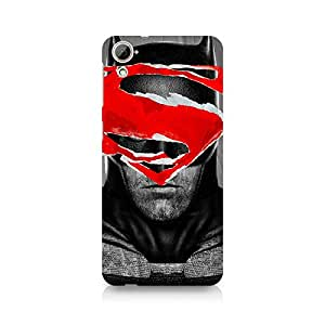 Ebby Batman With Superman Logo Premium Printed Case For HTC Desire 820