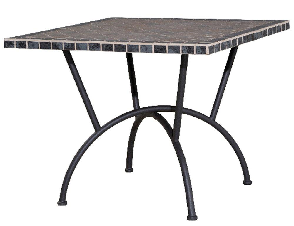 Siena Garden 431286 Tisch Ponza, schwarz, Mosaik-Keramikoberfläche L 90 x B 90 x H 72,5 cm jetzt kaufen