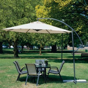 Patio Umbrellas - 10 Ft. Offset Ez Adjustable Roll-up Umbrella - White - Buy Patio Umbrellas - 10 Ft. Offset Ez Adjustable Roll-up Umbrella - White - Purchase Patio Umbrellas - 10 Ft. Offset Ez Adjustable Roll-up Umbrella - White (CYG, Home & Garden,Categories,Patio Lawn & Garden,Patio Furniture,Umbrellas & Accessories,Umbrellas)