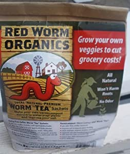 Worm Tea Sachets twelve 5 gal sachets