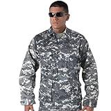 Subdued Urban Digital Camouflage Military BDU Fatigue Shirt