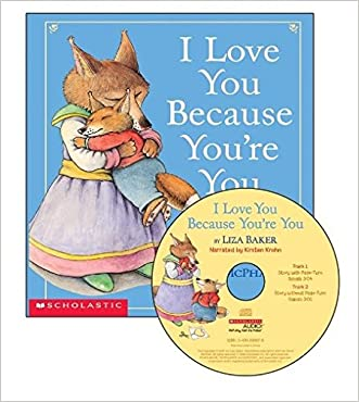 I Love You Because You're You - Audio [Paperback with CD] written by Liza Baker
