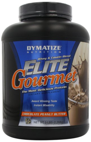 Dymatize Nutrition Gourmet Elite, Chocolate Peanut Butter, 5-Pound