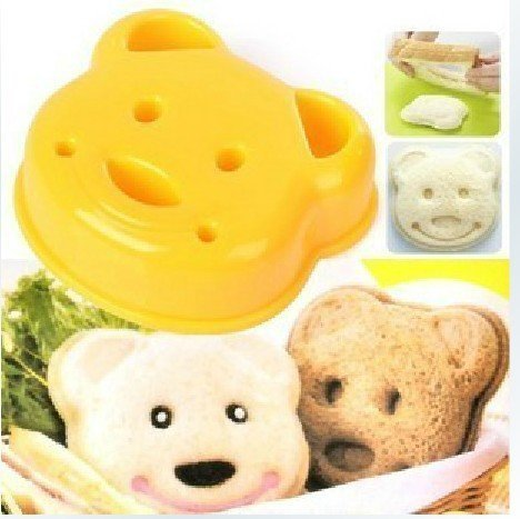 Little Bear Shape Sandwich Bread Cake Mold Maker DIY Mold