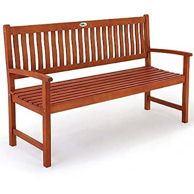 3-Sitzer Gartenbank Maxima aus Bangkirai - Holzbank Sitzbank Parkbank von Deuba® auf Gartenmöbel von Du und Dein Garten