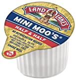 Land O Lakes Half & Half Mini Moo, 384-Count Single-Serve Packages