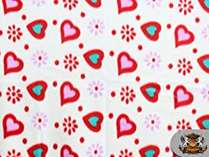 Fleece Printed Hot Air Balloon Festival Fabric Sold By the Yard