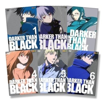 Darker Than Black Vol. 1 bis 6 Episoden 01-26 - 6er DVD-Set - Deutsch