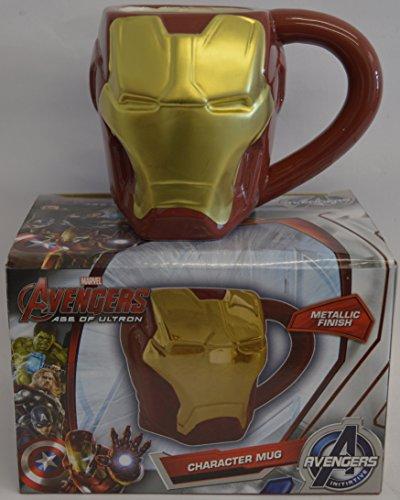 Marvel Comics - Tazza, disegno: Iron Man, in 3D