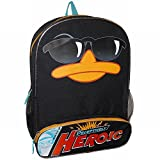 Disney Phineas & Ferb Backpack Perry Heroic Kids School Travel Back Pack