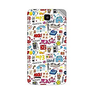 Garmor Designer Mobile Skin Sticker For XOLO Q700 - Mobile Sticker