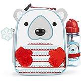 Skip Hop Zoo Lunchie & Bottle Set, Polar Bear