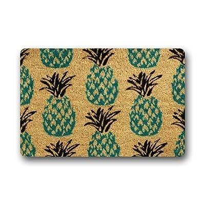 Door Mats Personalize Pineapple Custom Doormat 23.6 (L) x 15.7 (W) inches