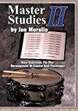 Master Studies Ii Drums