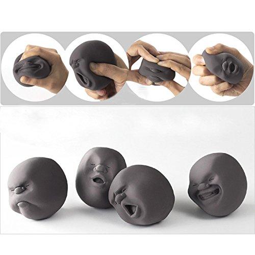 EQLEF-1pcs-drle-de-nouveaut-japonaise-Cadeau-Gadgets-Vent-humain-Visage-Balle-Anti-Stress-Scented-Caomaru-Toy-Geek-Gadget-Vent-Toy