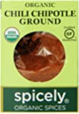 Spicely Organic Chili Chipotle Ground - Compact