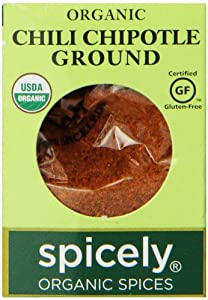 Spicely Organic Chili Chipotle Ground, 0.45 Ounce