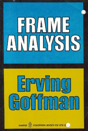 goffman e. 1967. interaction ritual essays on face-to-face behavior
