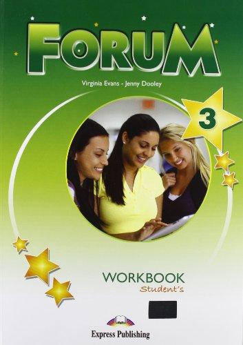 Forum. Workbook. Per le Scuole superiori: 3