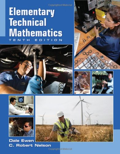 Elementary Technical Mathematics (Available 2011 Titles...