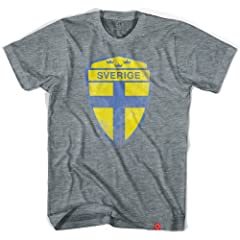 Sweden Sverige Crest Soccer T-shirt