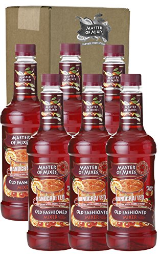 Master of Mixes Mix, Old Fashioned, 33.81-Ounce (Pack of 6) (Old Fashion Blender compare prices)