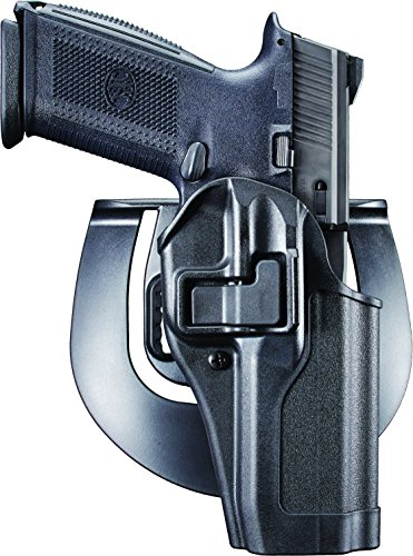 Learn More About BlackHawk Serpa CQC Concealment Holster, Right Hand, Black - for FNH FNS 9/40 - 410...