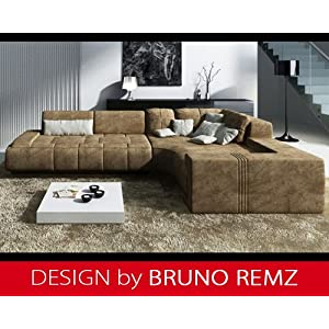 billig kaufen bruno remz basel design sofa couch ecksofa eckcouch wohnlandschaft stoffsofa. Black Bedroom Furniture Sets. Home Design Ideas
