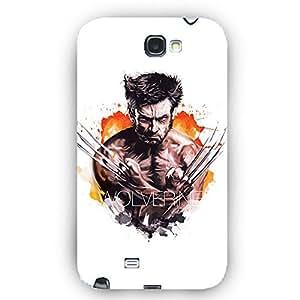 EYP Superheroes Wolverine Back Cover Case for Samsung Note 2