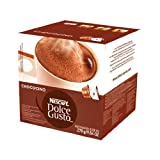 Nescafe Dolce Gusto for Nescafe Dolce Gusto Brewers Chococino 16 Count Capsules  Pack o
