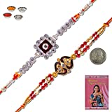 Little India Ethnic Style Traditional Jaipuri Designer Rakhi Gift 310