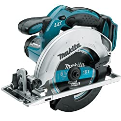 Makita BSS611Z 18-Volt LXT Lithium-Ion Cordless 6-1/2-Inch Circular Saw (Tool Only, No Battery)