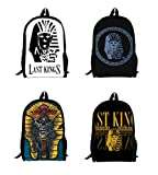 The Last King School Backpack For Children Printing Backpacks For Teenagers