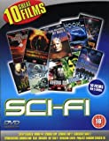 Science Fiction 10 Film DVD Box set, Invasion Earth / Moon 44 / Sleep Stalker / Blue Tornado / Def -Con 4 / Project Shadowchaser 3 / Cyborg Cop 1 + 2 / Spontaneous Combustion / Circuitry Man 2.