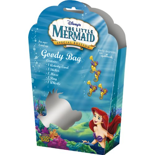Little Mermaid Goody Bag with 5 Favors
