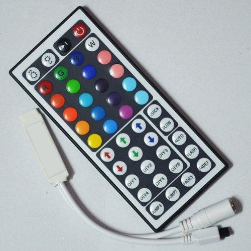 Hossen® Led Wholesalers 44 Keys Mini Ir Remote Controller For 3528 & 5050 Rgb Led Strip Lights