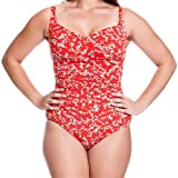 Funkita Form Women's Daisy Chain Ruched One Piece 10 Daisy Chain