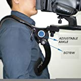 Neewer® Hand-Free Shoulder Mount Stabilizer Support Pad for Video Camera DV / DC Camcorder HD DSLR