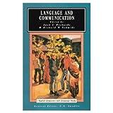 Language and Communication (Applied Linguistics and Language Study) (0582550343) by Richards, J. C.