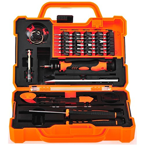 Anseahawk Professional Precision Screwdriver Set (45 in 1) Repair Tools Kit for Smartphone Tablet Laptop Computer Electronics fit iPhone, iPad, Samsung Galaxy / Tab, HTC, LG, OnePlus and More (Repair Tool Kit compare prices)