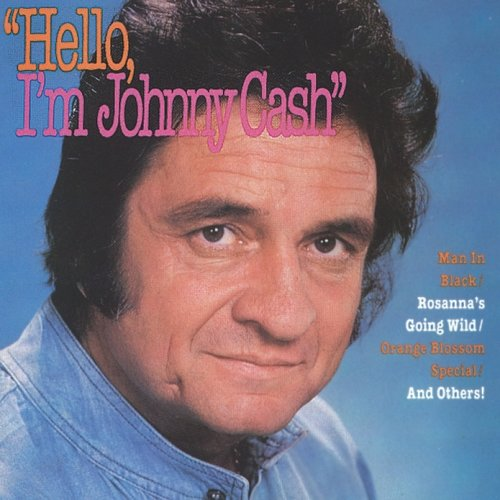 Hello, I'm Johnny Cash artwork