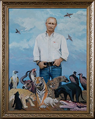 Vladimir Putin. Spring (Fine Art Paintings compare prices)