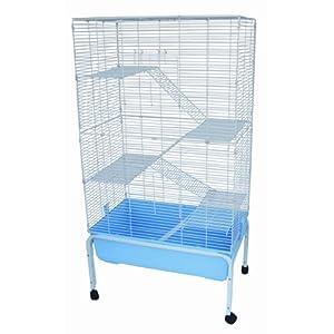 Brand New 5 Levels Ferret Chinchilla Hamster Cage 32x20x61 --- F5Stand