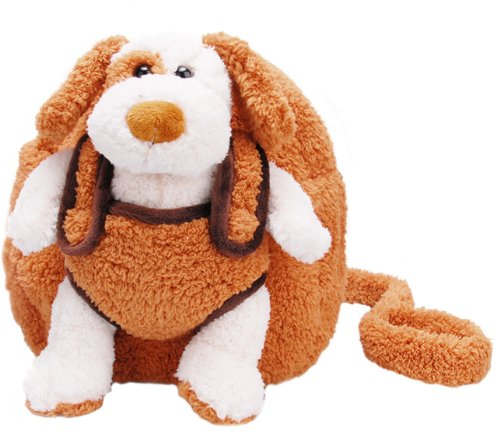 Jeep Playful Pal Backpack Harness With Removable Plush Dog