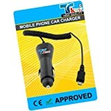 TK9K[TM] - MOBILE PHONE CAR BATTERY CHARGER FOR Sony Ericsson ONLY FOR W100i spiro UK Spec CAR Charger for NI-MH, LI-ION & LI-POL Batteries. - Rapid charge. - 12 Months Warranty - CE approved - Lightweight - Multi input voltage capability - Maintains