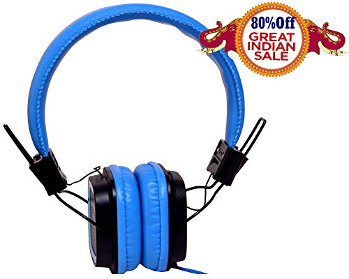 Valentines Special Hangout Latest HO-009 GRAND PRO Headset (Blue)